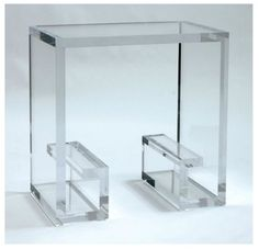 Custom made Lucite Coffee Table/Console Table/Side table @ VT Interiors