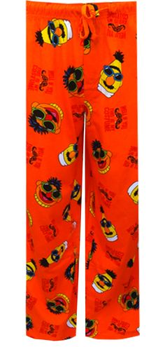 WebUndies.com Sesame Street Bert And Ernie This Is My Costume Loungepant