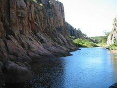 Forty-Foot Hole is one of the Wichita #Mountains most popular #hiking destinations. Cache Creek flows through this small gorge creating #waterfalls and cascades.