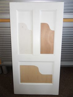 Upgrade painted door to firedoor