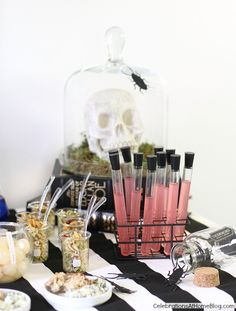 HALLOWEEN BAR :: SCIENCE LAB — Celebrations at Home