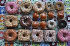 Donut Plant in New York City---I just saw a TV segment on this donut place and the donuts looked amazingly delicious.  They make square jelly donuts (with homemade jam or jelly!!) and you get a bite of jelly in every bite.