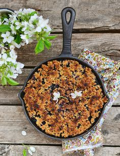 Country Blueberry Crumble Recipe
