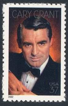 Cary Grant - Single Stamp 8th in Legends of Hollywood Series United States, 2002