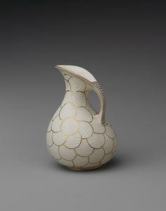 Pitcher  Made by Ott and Brewer (1871–1893)  Date: 1883–90