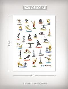 Star Wars Yoga. EPIC.