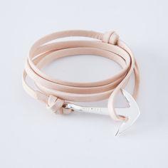 anchor bracelet, leather bracelets