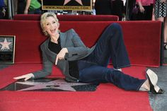 Actress #JaneLynch receives a star on the #Hollywood #WalkofFame on Sept. 4, 2013  http://celebhotspots.com/hotspot/?hotspotid=25124&next=1