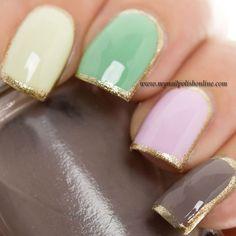 31DC2014 - Day 8 Metallic Nails