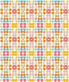 Beautiful watercolor pattern by Samantha Hahn.