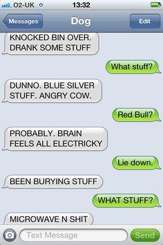 Brain feels all electricky.   #ridiculousness  textfromdog.tumblr.com