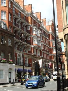 Crowne Plaza St. James. A great hotel in London just down the street from Buckingham Palace.