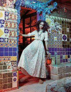 Malaika Firth for Vogue Japan July 2014