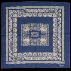 Beams floral bandana.