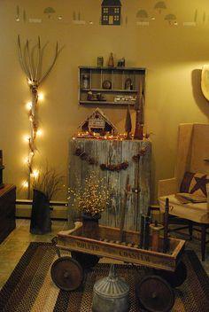 A Prim Living Room