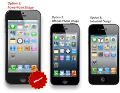 iPhone image created in powerpoint. Nice...