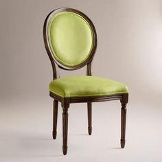 WorldMarket Lime Ella Side Chairs, Set of 2