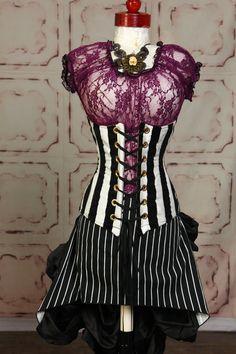 Size Small Purple Lace Blouse. $35.00, via Etsy.