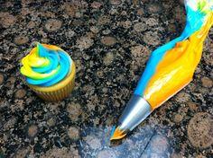 Rainbow Cupcakes! carlosbakery