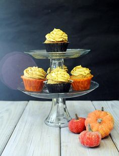 Cupcake Recipes : Harry Potter's Butterbeer Cupcakes : Dessert Recipes