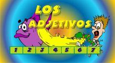 RECURSOS INTERACTIVOS EN FLASH: LOS ADJETIVOS