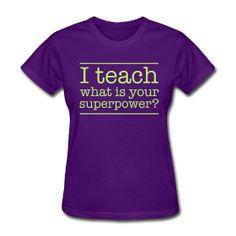 I think my whole staff needs shirts like this!