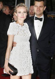 Diane Kruger & Josh Jackson in Chanel