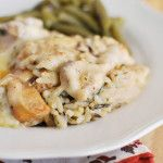 Chicken & Wild Rice Hot Dish