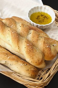 Soft garlic breadsticks.  This site has lots of bread machine recipes and tips.