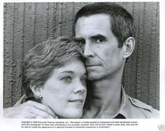 Anthony Perkins and wife Berry Berenson  Both gone now  so sad