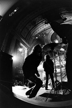 The Doors on stage at the Fillmore East, 1968.