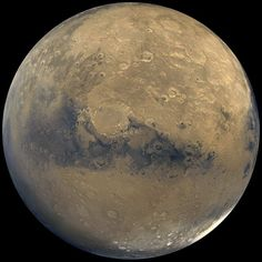 High resolution photo of mars