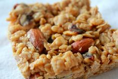Detox January, Week 1: Peanut Butter-Oatmeal Breakfast Bars   Yankee Kitchen Ninja
