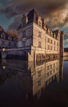 The Château de Villandry in Loire Valley, France