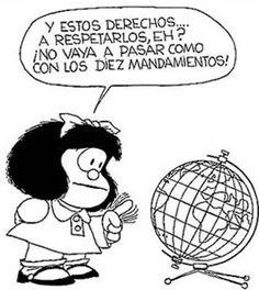 jajajaja!! mafalda, derecho social, social media, derechos humanos, los derecho, del empleado, declaración de, derecho humano, en social