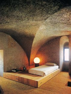 Gae Aulenti, Bedroom, 1979