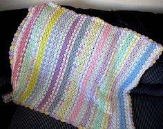 Bev's 5 Day Blankie baby afghans, crochet baby blankets, blanket patterns, crochet patterns, yarn, babi blanket, babi afghan