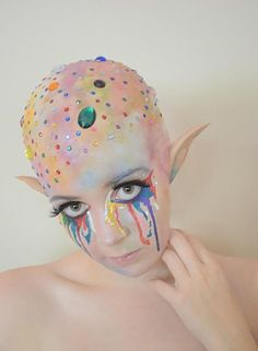 Special Effect makeup maybe for Halloween! WOW!
