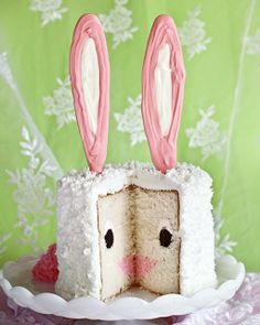 Easter Bunny Surprise-Inside Cake by I AM BAKER