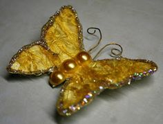 Oh, Scrapulous!!: Tutorial - Fabric Butterfly