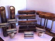 bamboo jewelri display, wood jewelry display, jewelry displays, display idea, bamboo jewelri, craft fair