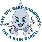 Save the Baby Raindrop Logo