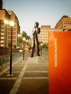 Pop down to Fox Street and see the new Nelson Mandela sculpture. You'll be glad you did.