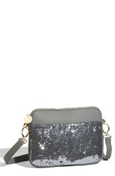 $62.00 This iPad sleeve is glam with a capital G.  #DeuxLux #iPad #Nordstrom