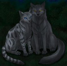 silverstream and graystripe  Silverstream and Grayst...