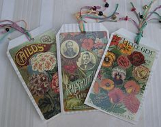 I love the idea of using seed packets for a gift