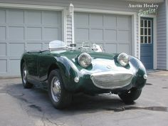 """Austin Healey Sprite - """"and it's happy to see you!"""""""