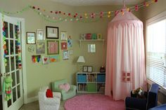 Playroom Reading Nook