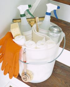 Martha Stewart's list of DIY Cleaners Organizing Tips, Green Cleaning, Bucket, Hous, Cleaning Supplies, Cleaning Tips, Spring Cleaning, Kitchen Cleaning, Diy Cleaners