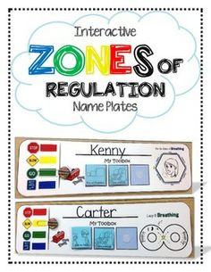 Interactive ZONES of Regulation Name Plates